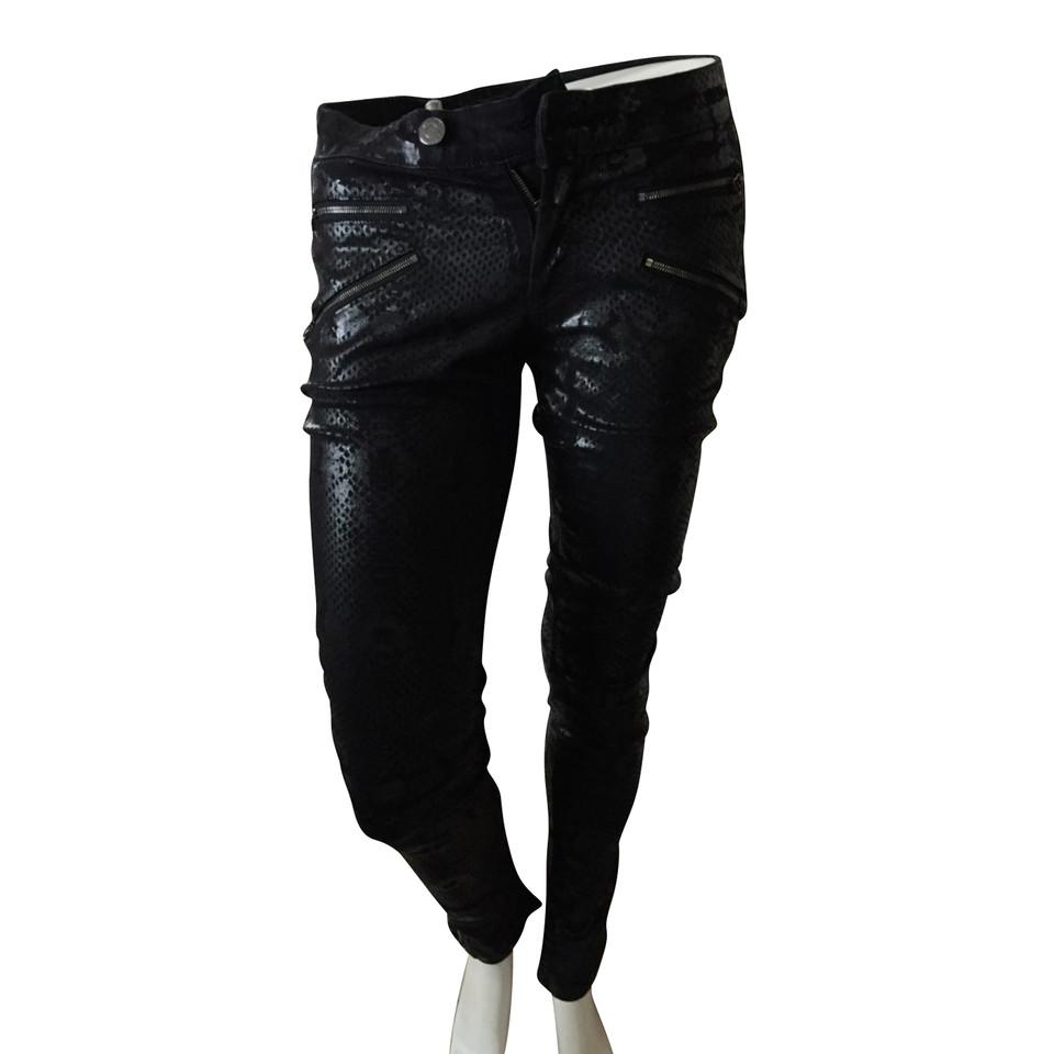 Pierre Balmain Jeans mit Schlangenprint