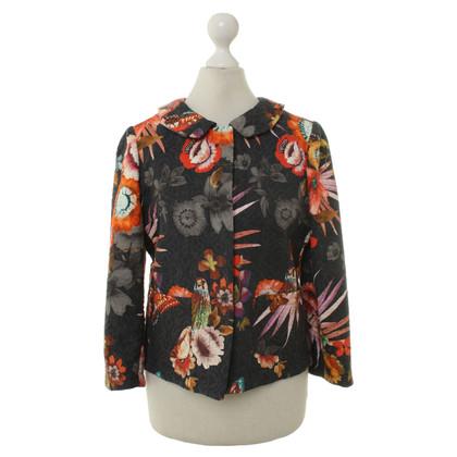 Andere Marke Shirtaporter - Blazer mit Blumenmuster