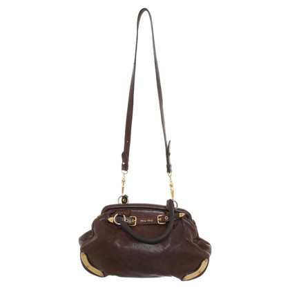 Miu Miu Miu Miu - Borsa in Brown