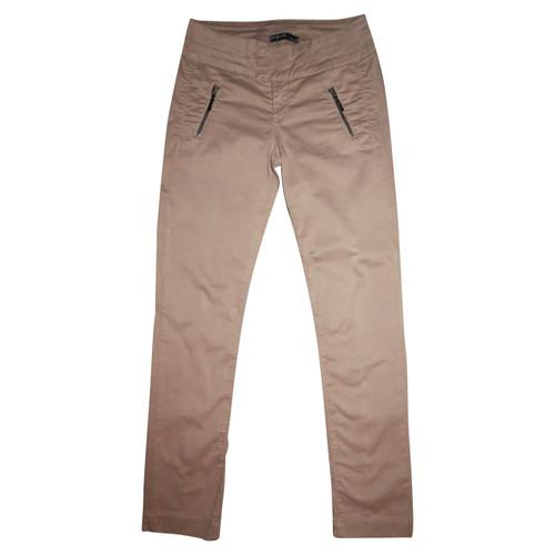 wholesale dealer 102cf 4db8a Liu Jo Trousers Cotton in Brown - Second Hand Liu Jo ...