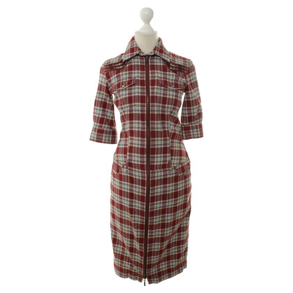 McQ Alexander McQueen Plaid dress