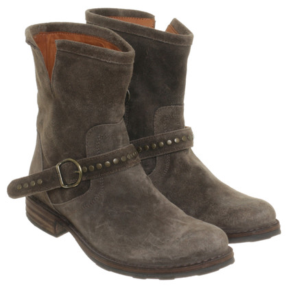 Fiorentini & Baker Ankle boots olive green