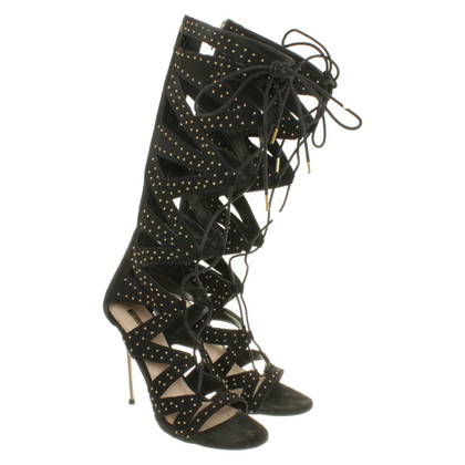 Kurt Geiger Lace sandals in black