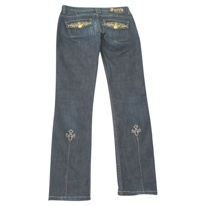 Faith Connexion Jeans with semi-precious stones