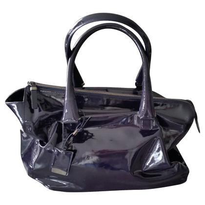 Jil Sander  enamel handbag