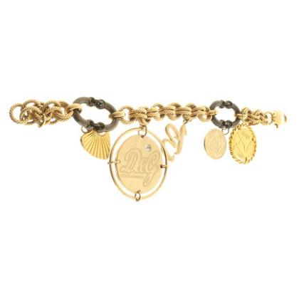D&G Bracelet en noir / or