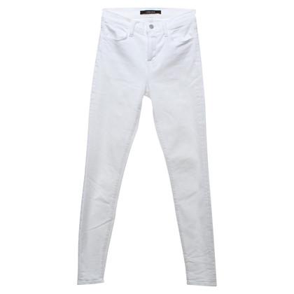 J Brand Skinny Jeans in bianco