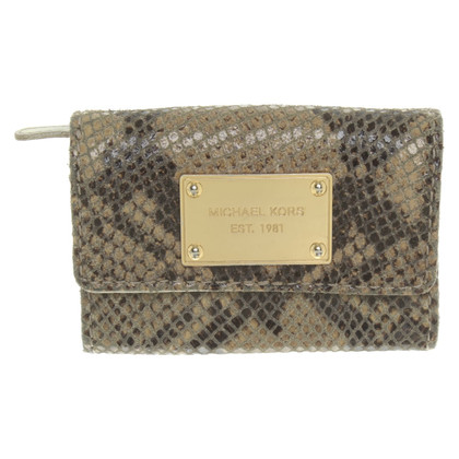 Michael Kors Wallet in reptile look