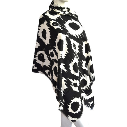 Burberry Sciarpa in lana stampa animalier