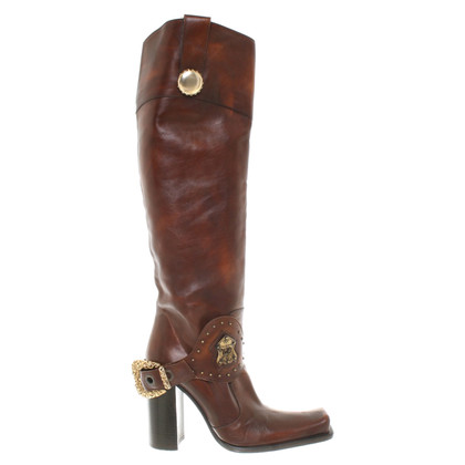 Gianmarco Lorenzi Boots in western look