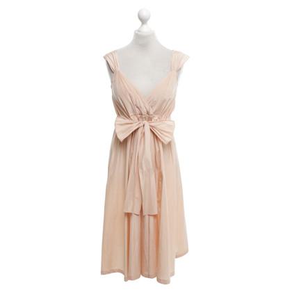 Jil Sander Apricot colored summer dress