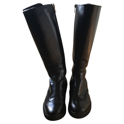Fratelli Rossetti Fluweelachtige Nero Boots