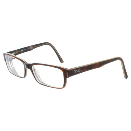 Ray Ban Eyeglass frame in Brown