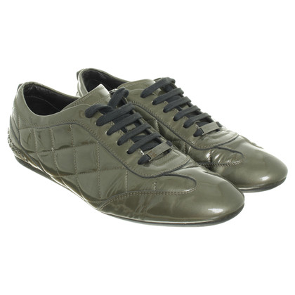 Burberry Sneaker aus Lackleder