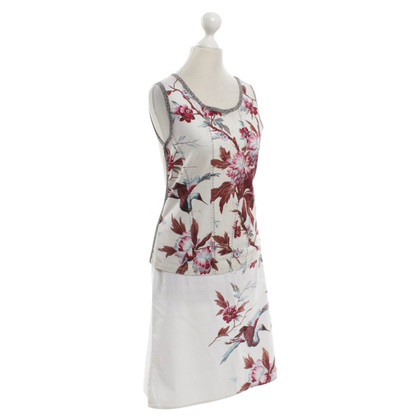 Marc Cain Two-piece dress with floral pattern