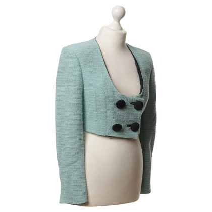 Christian Dior Korte Blazer in mint