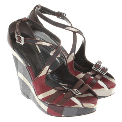 Burberry Sandalen met patroon