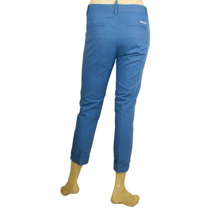 Dsquared2 Blue capri pants
