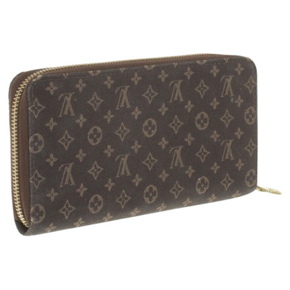 Louis Vuitton Wallet from Monogram Mini Lin Gris