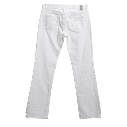 Adriano Goldschmied Bootcut Jeans in White