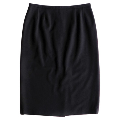 Max Mara Wool skirt in black
