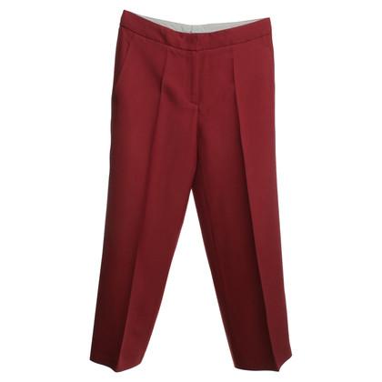 Luisa Cerano 3/4 broek in het rood
