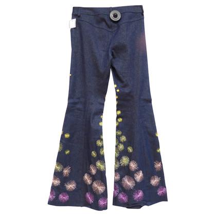 Christian Dior Jeans met klap
