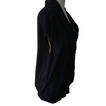 Escada Silk top dark blue