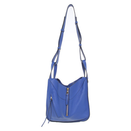 Loewe Piccolo shopper in blu reale