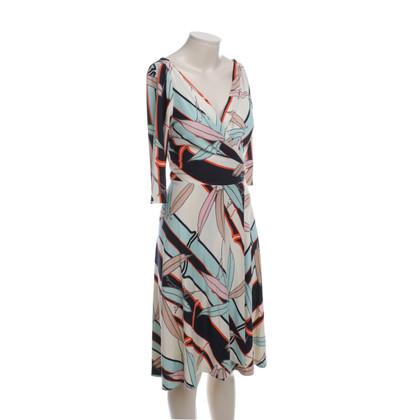 Diane von Furstenberg Wickelkleid mit Muster
