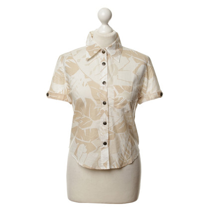 Armani Jeans Blouse with a floral pattern