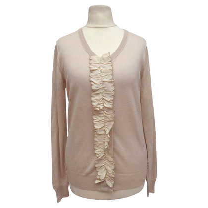 Chloé Cardigan con Increspature