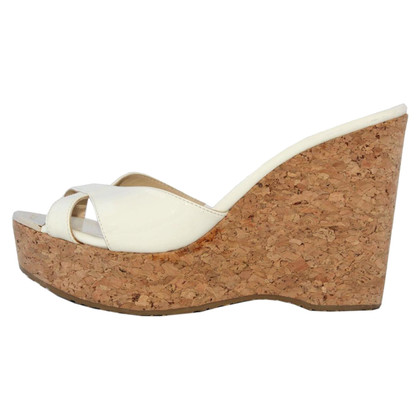 Jimmy Choo Cork wedge shoe