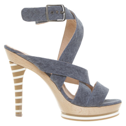 Marc Cain Sandals in blue