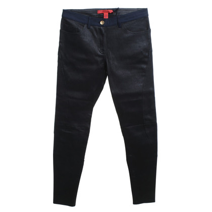 Altre marche Hilfiger Collection - pantaloni di pelle in stile equestre