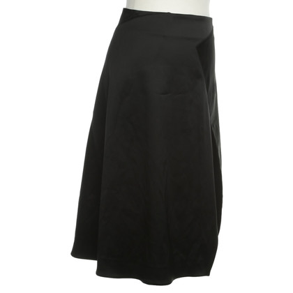 Acne Brilliant skirt in black