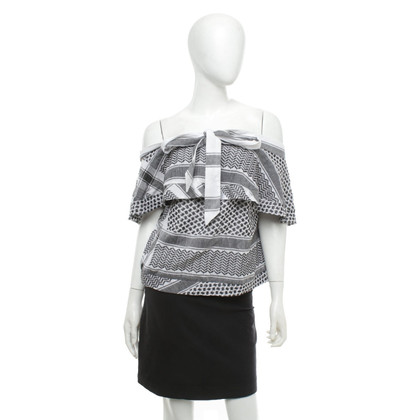 Cecilie Copenhagen top with pattern