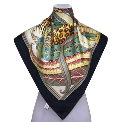 Salvatore Ferragamo Silk scarf with print