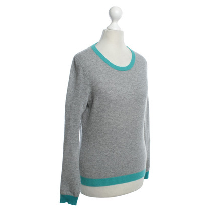 Clements Ribeiro Cashmere pullover in gray / green
