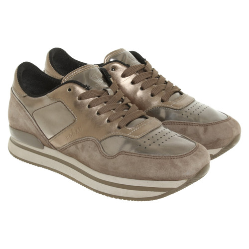 3b67a7ac894 Hogan Trainers Leather in Grey - Second Hand Hogan Trainers Leather ...