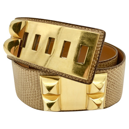 """Hermès Belt """"Collier De Chien"""""""