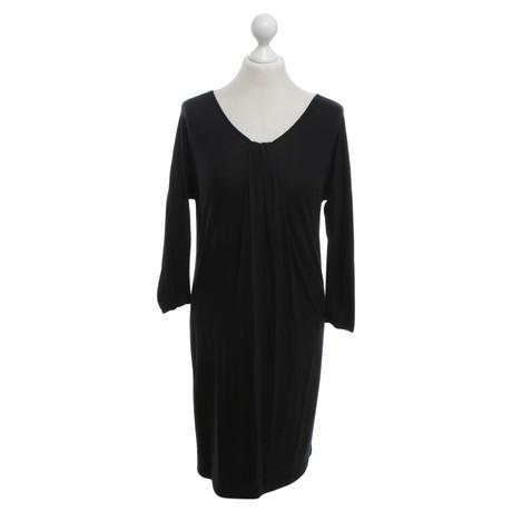 DKNY Kleid in Schwarz Schwarz