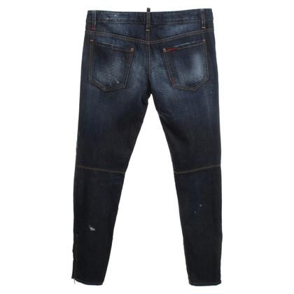 Dsquared2 Jeans con ricamo