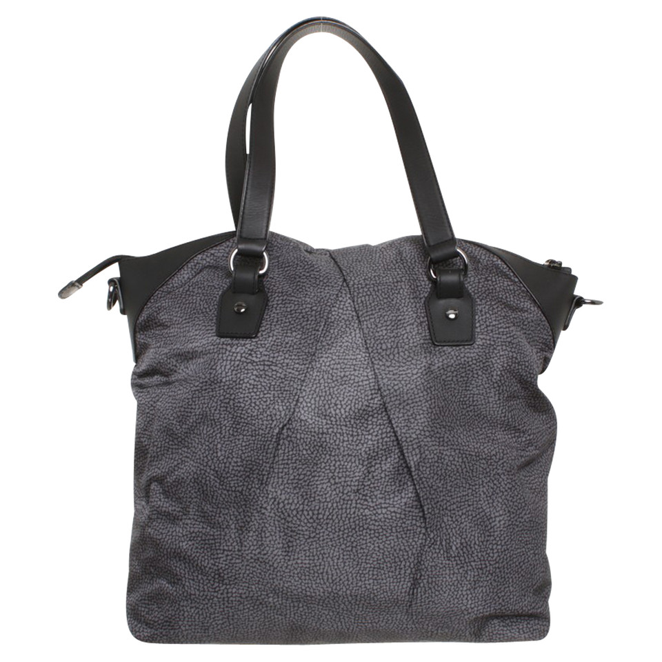 Borbonese Shopper with pattern