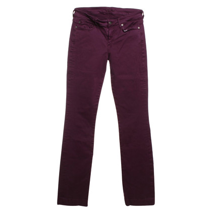 7 For All Mankind Jeans en Fuchsia
