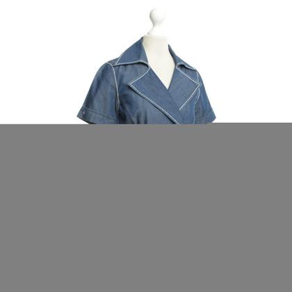 Van Laack Denim Schößchen blouse