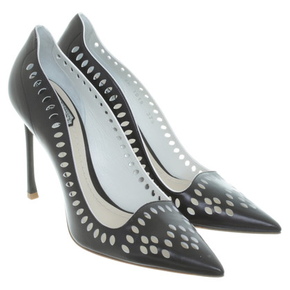 Christian Dior pumps with hole pattern