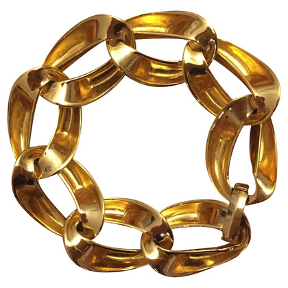 Christian Dior Gilt leden Bracelet