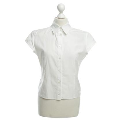 Strenesse Short sleeve blouse in white