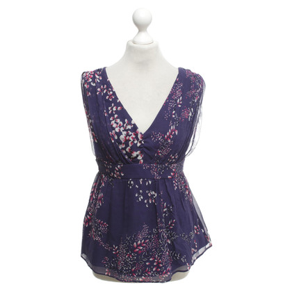 Ted Baker Silk top with print